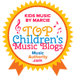 Kids Music By Marcie Top Children's Music Blogs Badge