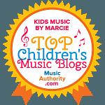 Kids Music By Marcie Top Children's Music Blogs Badge