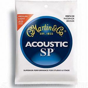 Martin MSP4150 SP Phosphor Bronze Acoustic Guitar Strings
