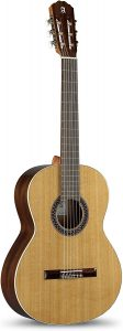 Alhambra 6 String Classical Guitar, Solid Red Cedar, (1C-US)