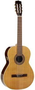Alhambra 6 String Acoustic-Electric Guitar, Right, Solid Red Cedar, Cutaway (3C-CW-US)