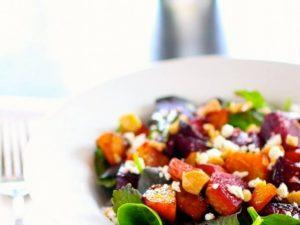 Carrot, Beet & Grapefruit Salad