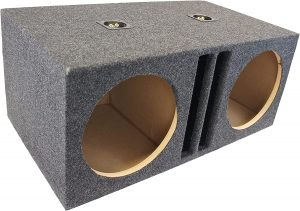 American Sound Connection Dual Bass Subwoofer Labyrinth